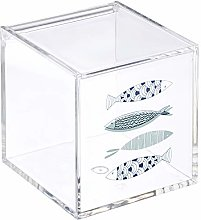 Dcasa Acrylic Salt and Pepper Shakers Bento Boxes