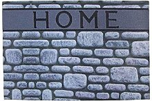 DCASA Embossed Home Reference DC Doormats Textiles