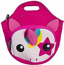 Dcasa Neoprene Unicorn Lunch Bags, Bento Lunch