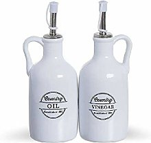 Dcasa Set of Vinegar Oils and Containers for