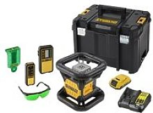 DCE079D1G-GB Green Rotary Laser Kit 18V 1 x 2.0Ah