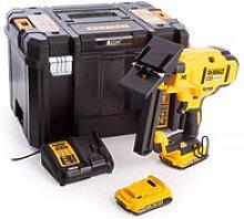 DCN682D2 18V Brushless 18Ga Floor Stapler With 2 x