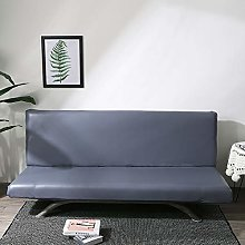 DD&QG Armless Sofa Cover,waterproof Pu Leather