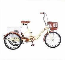 DDL Adult Tricycles Single speed bicycle 20inches