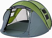 DDQQ Outdoor Tent 3-4 Man Tent, 3-4 Person Tunnel