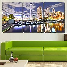 DDSDA Canvas Wall Painting Art 3 Panel Wall Art