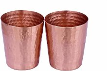 De Kulture Works Hand Hammered Pure Copper Cup