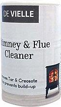 De Vielle Chimney & Flue Cleaner, White, one size