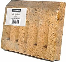 De Vielle Fireplace Back Brick for 16-Inch Grate,