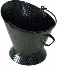 De Vielle Fireplace Basket Weave Waterloo Coal