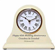 De Walden 60th Diamond Wedding Gift Engraved