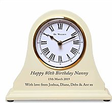 De Walden Girl's 80th Birthday Gift Engraved