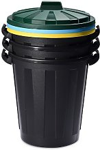 DEA Art 446 60 Litre Mr. Eco Recycling Bin, Set of