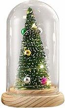 DealmerryUS Creative Christmas Tree Glass Cover