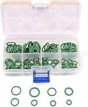 DealMux 111 Pieces Green O-Ring Assortment Air