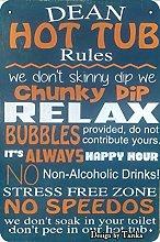 Dean Hot Tub Rules We Don'T Sjinny Dip We