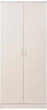 Deanda 2 Door Wardrobe Brayden Studio Colour: White