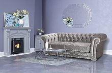 Deanna 3 Seater Chesterfield Sofa Willa Arlo