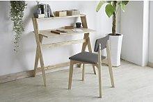 Deans Desk and Chair Set Natur Pur