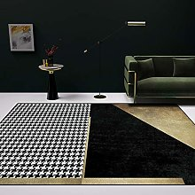 DEAR-JY Carpet,Nordic simple light luxury black