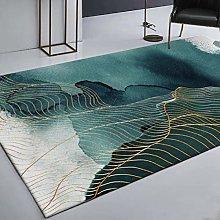 DEAR-JY Carpet,Stylish Chinese gold line green