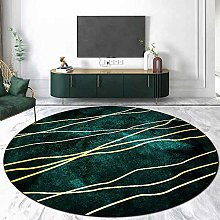 DEAR-JY Round Carpet,Living Room Rug,Abstract