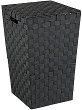 DeBary Laundry Bin Rebrilliant Colour: Black
