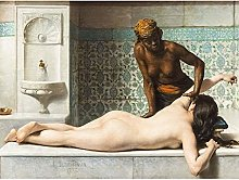 Debat-ponsan Massage Painting Bathroom Large Wall