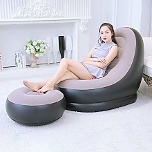 DEBEME Inflatable Sofa, Family Lounge Chair with