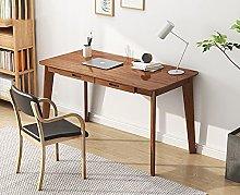 DEBND Solid Wood Computer Desk Table,Simplistic