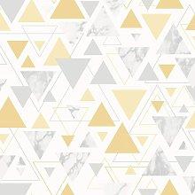 Debona Chantilly Triangle Geo Smooth Marble Pastel
