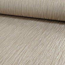 Debona Crystal Plain Pattern Textured Stripe