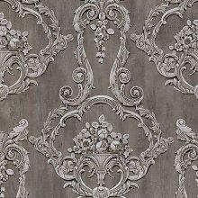 Debona Grosvenor Anthracite Wallpaper 6215 -