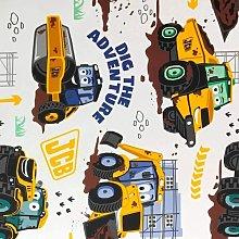 Debona - Kids Digger Wallpaper JCB Truck Boys