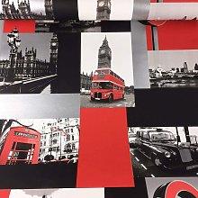 Debona - London red wallpaper 10012