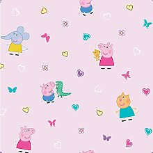 Debona - Peppa Pig Pink Heart Butterfly Childrens