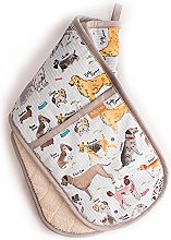 Debonair Dogs Double Oven Gloves