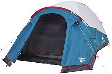 Decathlon 2 Man 1 Room Dome Camping Tent - White