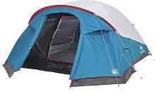 Decathlon 3 Man 1 Room Dome Camping Tent - White
