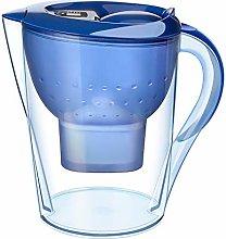 Decdeal -3.5L Transparent Water Filter Pitcher