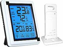 Decdeal Digital Indoor Outdoor Thermometer