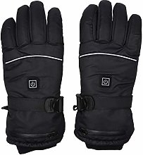 Decdeal Heated Gloves Waterproof Rechargeable