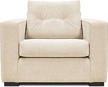 Decesare Armchair Brayden Studio Upholstery: Cream