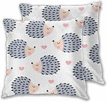 DECISAIYA Throw Pillow Covers Pack of 2,Cute