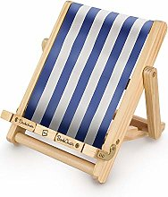 Deckchair Bookchair Wood Adjustable Foldable