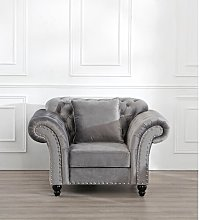 Declan Armchair Marlow Home Co. Upholstery Colour: