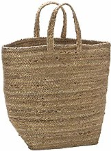 Deco&Co DD03876 Jute Basket, Gold, One Size