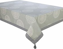 Deco&Co Rectangular Printed Lace Tablecloth 140 x
