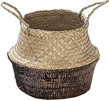 Deco&Co Sequin Basket, Copper, 30 cm x 27 cm