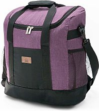 Decocasa Thermal Backpack Food Carrier, Large